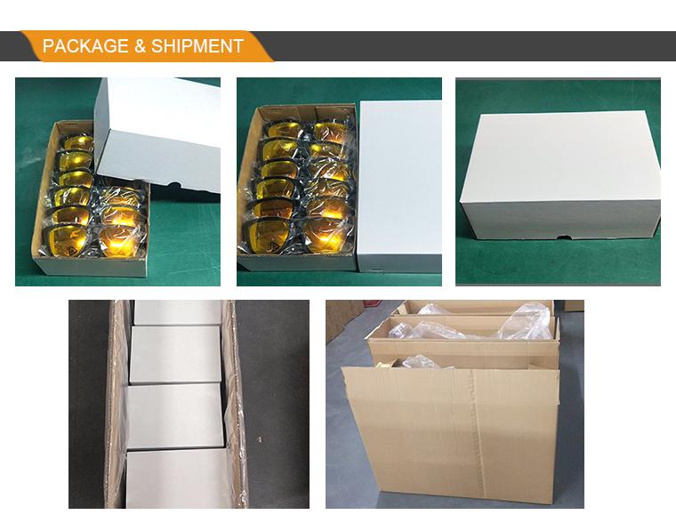 2020 new customize sunglasses paper box
