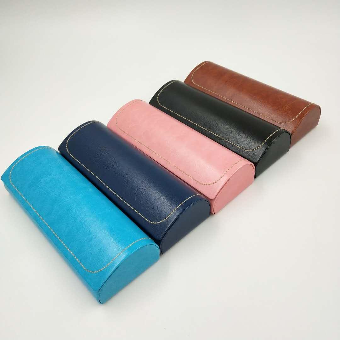 2020 pu leather handmade case sunglasses in stock