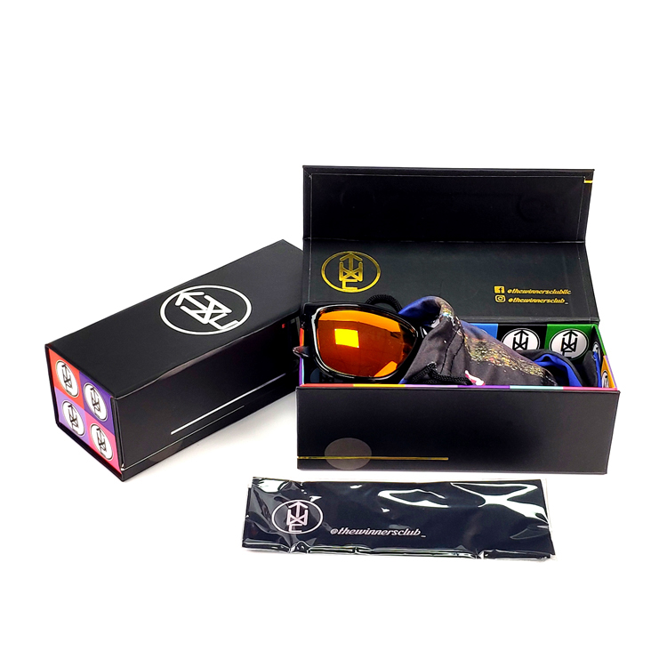 Recycled magnetic sunglasses paper box printing