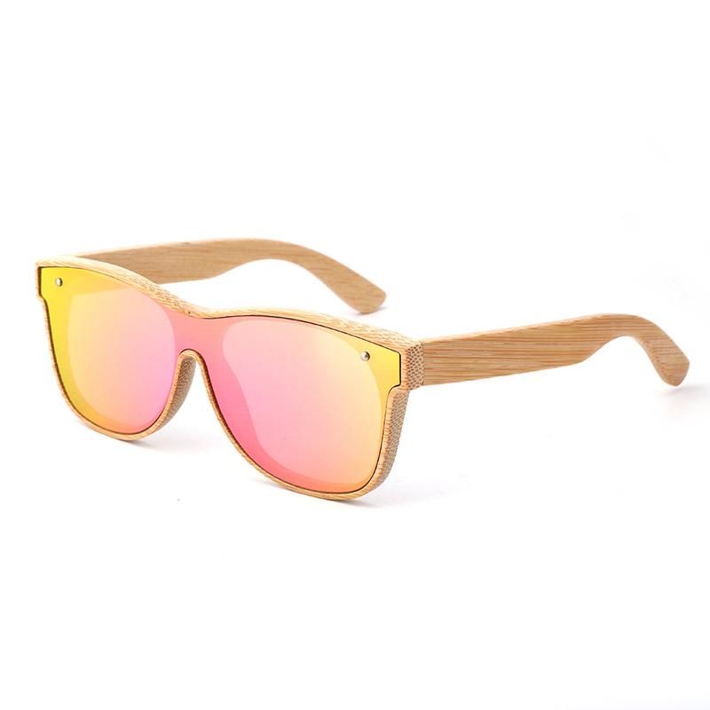 (RTS) SQ-56282C-2 Bamboo sunglasses 2021 Eco Friendly Fair Price Women Men Sunglasses Bamboo Wood With Cheap Price