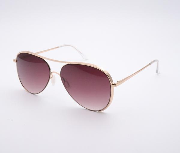 Metallic Sunglasses YZ-21444