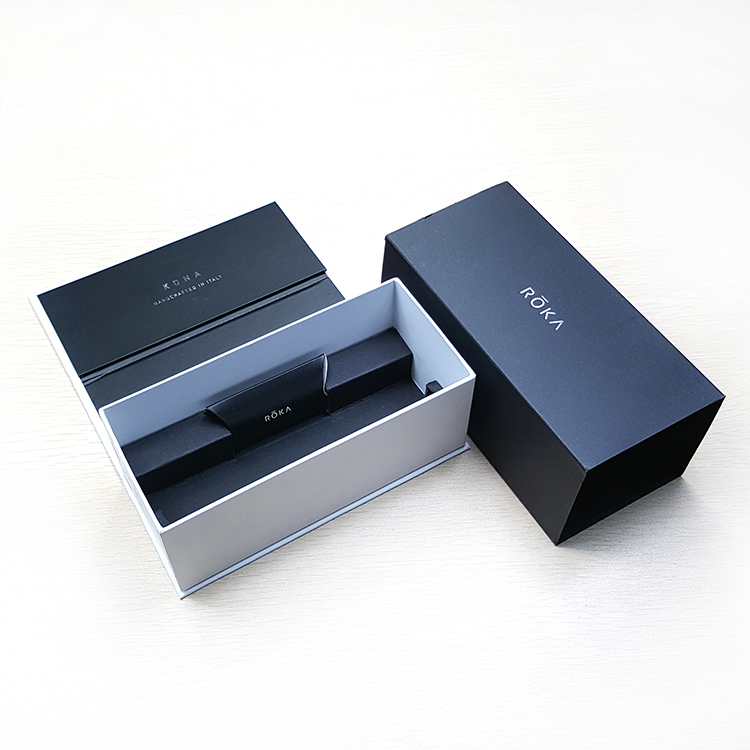 OEM custom wholesale hand made glasses case sunglasses packaging boxes