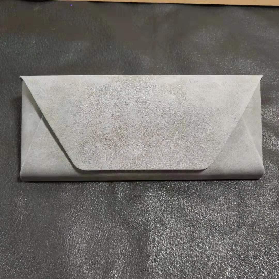 K0003 Fashion sheep barn fabric spectacle case foldable sunglasses spectacle case custom