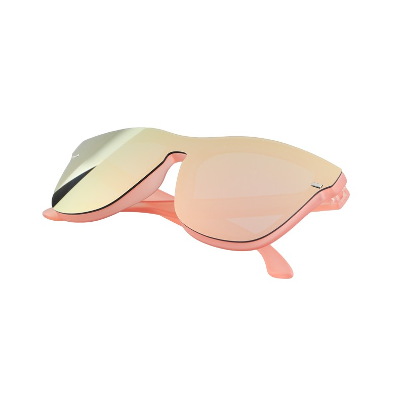ZH-933 2021 new high-quality color focus sunglasses with pink lenses