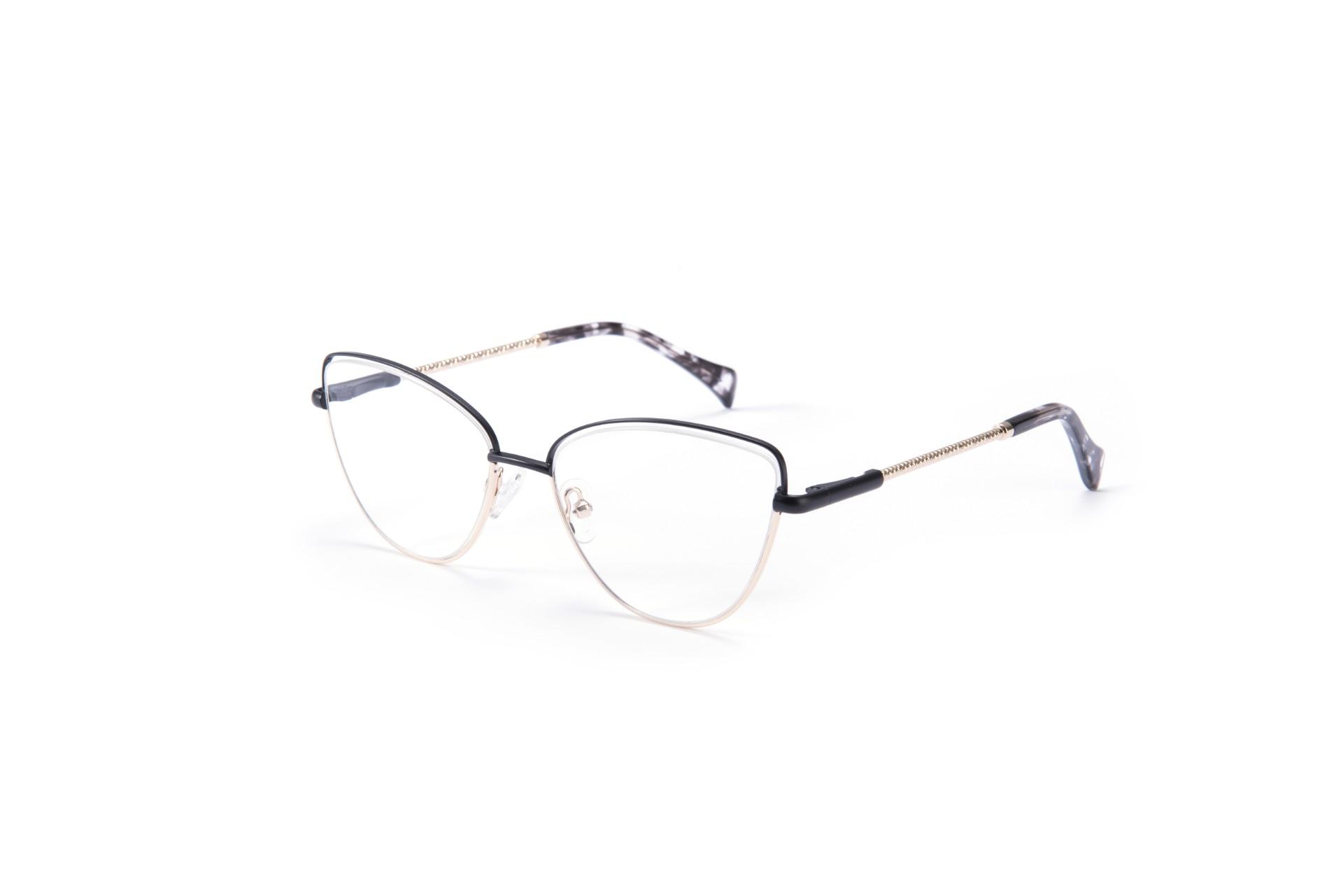 (RTS) EM1101 Metal glasses 2021 wholesale vr/ar glasses optical glass lens mens frames optical glasses with small quantity